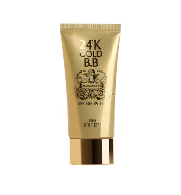 Омолаживающий BB-крем с 24K золотом Baviphat Agamemnon 24K Gold BB Cream