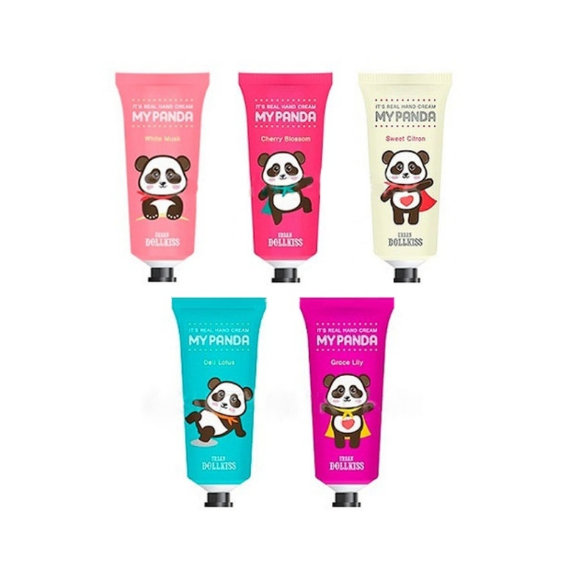 Линейка кремов для рук Baviphat Its Real My Panda Hand Cream the yeon canola honey silky hand cream крем для рук с экстрактом меда канола 50 мл