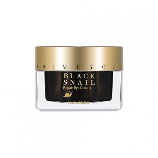 Крем для глаз с фильтратом черной улитки Holika Holika Prime Youth Black Snail Repair Eye Cream тканевая маска holika holika prime youth gold caviar gold foil mask объем 25 мл