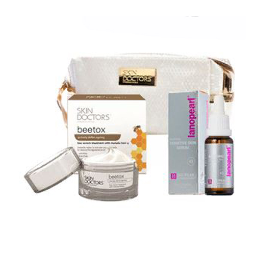 Набор для омоложения кожи Skin Doctors Nurturing Sensitive Skin Serum and BeeTox антивозрастной уход skin doctors косметический набор beetox