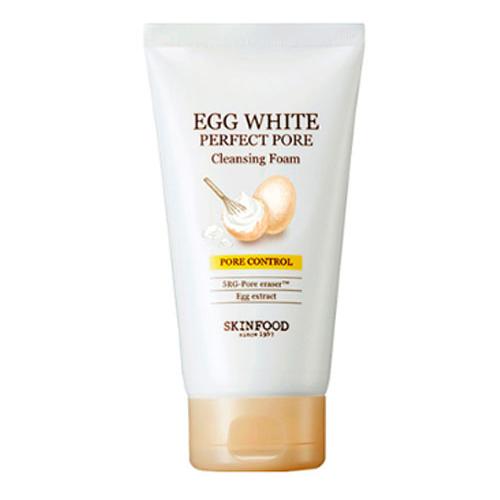 Пенка для умывания SKINFOOD Egg White Perfect Pore Cleansing Foam 250 ml deoproce natural perfect solution cleansing foam deep cleansing пенка для умывания с рисовой водой 170 г
