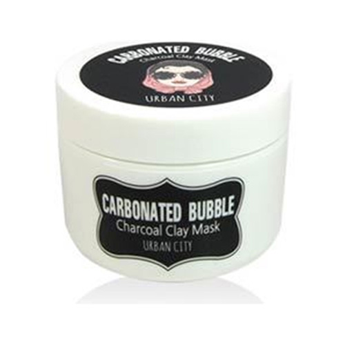 Глиняно-пузырьковая маска с угольным порошком Baviphat Urban City Carbonated Bubble Charcoal Clay Mask hot deep pore cleansing clay mask carbonated bubble anti acne moisturizing face mask 100g
