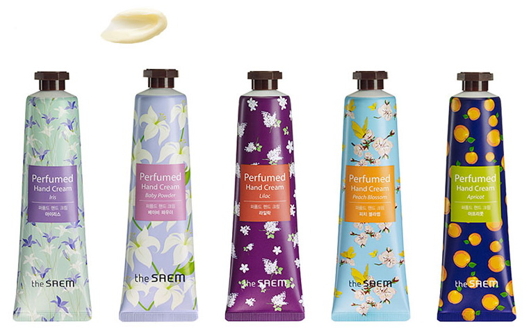 парфюмированный крем для рук The Saem Perfumed Hand Cream крем для рук the saem chocopie hand cream set