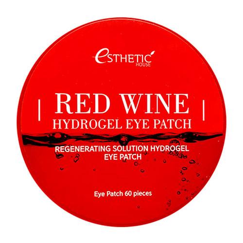 Омолаживающие гидрогелевые патчи Esthetic House Red Wine Hydrogel Eye Patch гидрогелевые патчи под глаза с золотом iyoub hydrogel eye patch gold