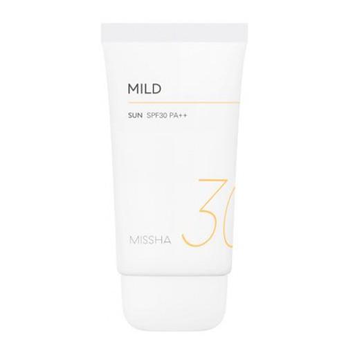 Мягкий солнцезащитный крем Missha All Around Safe Block Mild Sun крем safe all safe all крем успокаивающий от дерматита флакон с дозатором 100 мл