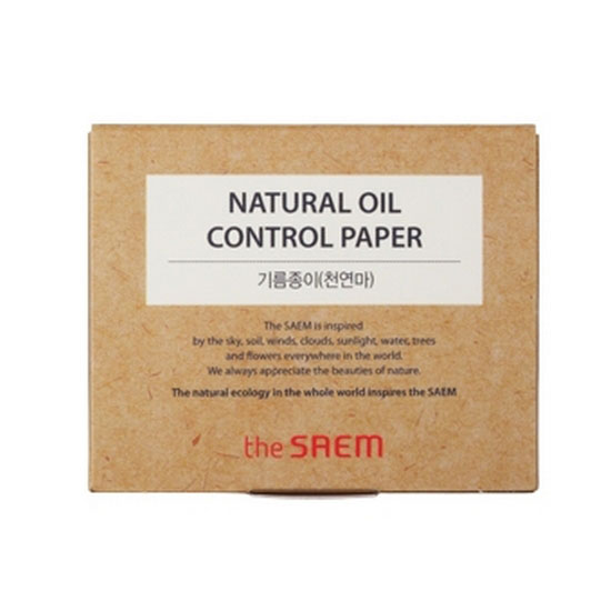 матирующие салфетки The Saem Natural Oil Paper