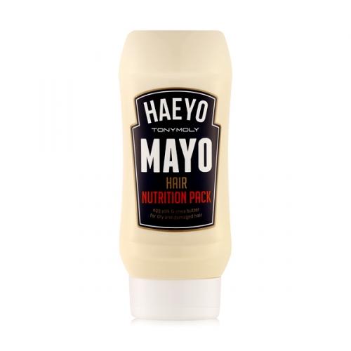 Питающая маска для волос Tony Moly Haeyo Mayo Hair Nutrition Pack маска tony moly make hd argan rose treatment hair steam pack 1 шт