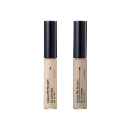 Консилер The Saem Cover Perfection Tip Concealer палетка консилера the saem cover perfection smart concealer kit