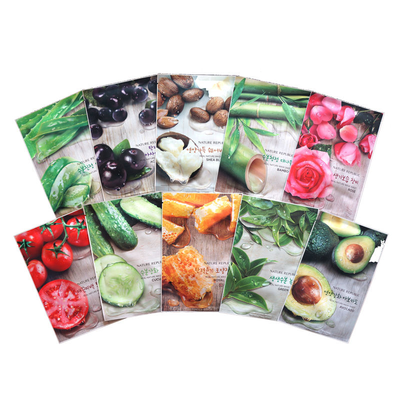 тканевые маски Nature Republic Real Nature Mask Sheet