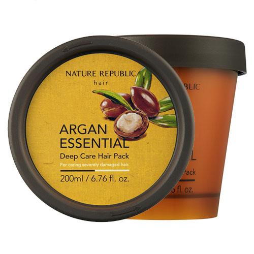 Восстанавливающая маска с арганой Nature Republic Argan Essential Deep Care Hair Pack масло kativa morocco argan oil nuspa масло