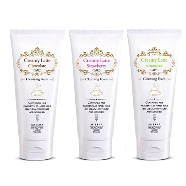 очищающая пенка Missha Creamy Latte Cleansing Foam