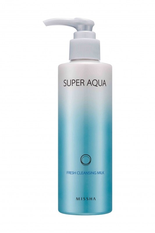 очищающее молочко Missha Super Aqua Fresh Cleansing Milk