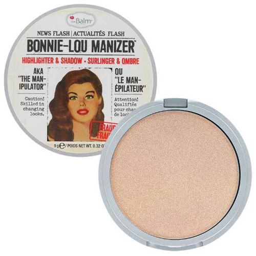 Хайлайтер-шиммер для создания макияжа TheBalm TheBalm Bonnie-Lou Manizer хайлайтеры thebalm хайлайтер betty lou manizer
