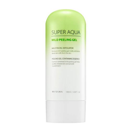 Пилинг-гель для очищения и увлажнения лица Missha Super Aqua Mild Peeling Gel пилинг гель с бальзамическим уксусом skinfood balsamic oil peeling mild gel