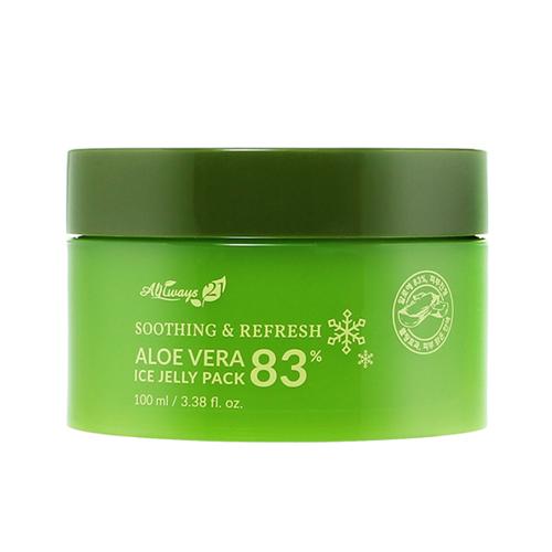Увлажняющая и охлаждающая маска  экстрактом алоэ вера Always 21 Aloe Vera 83% Ice Jelly Pack