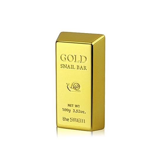 очищающее мыло The Saem Snail 100 Gold Snail Bar