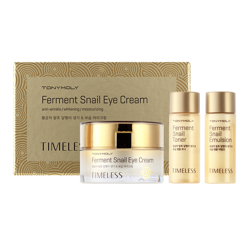 Улиточный крем для кожи вокруг глаз Tony Moly Timeless Ferment Snail Eye Cream
