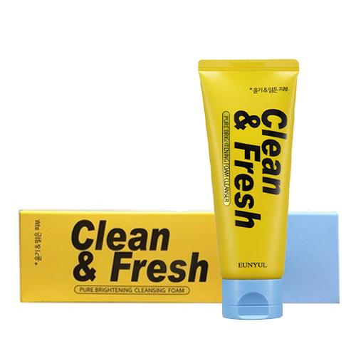 Освежающая и очищающая пенка для сияния кожи Eunyul Clean and Fresh Pure Brightening Foam Cleanser пенка llang red ginseng fresh lady cleanser 200 мл page 3