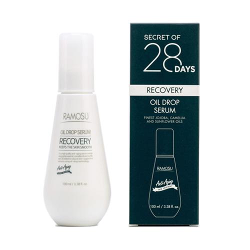 Антивозрастная масляная крем-сыворотка для омоложения Ramosu Recovery Oil Drop Serum gigi оптимизирующая сыворотка recovery optimizing serum 30 мл