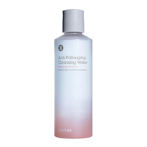 Вода для снятия макияжа и очищения лица с гималайской розовой солью Blithe Himalayan Pink Salt Cleansing Water вода skin79 micro cleansing water 200 мл
