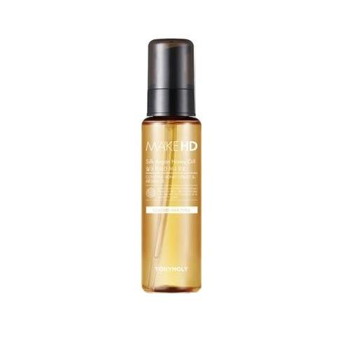 Масло с медом и аргановым маслом Tony Moly Make HD Silk Argan Honey Oil маска tony moly make hd argan rose treatment hair steam pack 1 шт