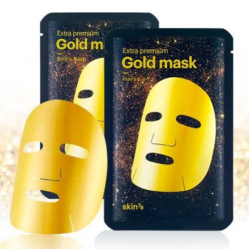 Набор масок  коллоидным золотом Skin79 Extra Premium Gold Mask