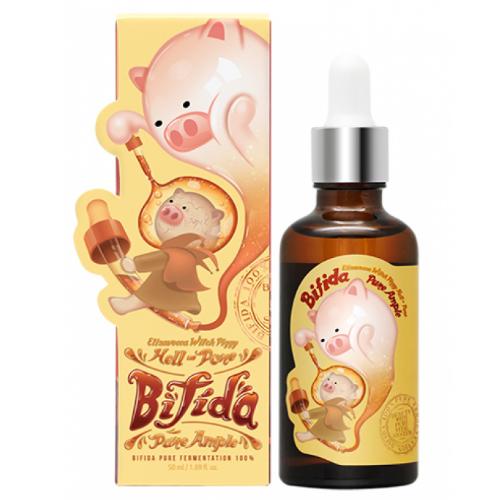 Сыворотка на основе бифидобактерий Elizavecca Milky Piggy Bifida 100% универсальный крем с маслом дерева ши elizavecca milky piggy shea butter 100%