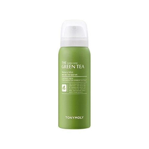 Успокаивающий мист с зеленым чаем Tony Moly The Chok Chok Green Tea Watery Mist тоник tony moly the chok chok green tea watery skin toner 180 мл