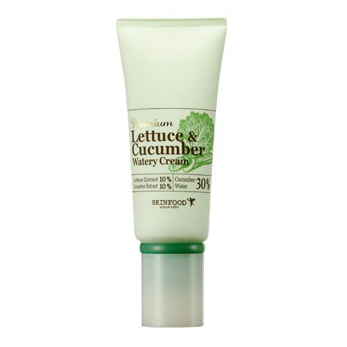 Увлажняющий крем с латуком и огурцом SKINFOOD Premium Lettuce and Cucumber Watery Cream эмульсия skinfood premium lettuce