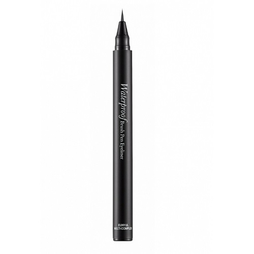 Жидкая водостойкая подводка для век Eunyul Eunyul Waterproof Brush Pen Eyeliner hengfang 52135 princess style water resistant eyeliner gel w brush black