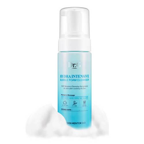 Очищающая пенка для умывания с интенсивным увлажнением Dr.G Hydra Intensive Bubble Foam Cleanser
