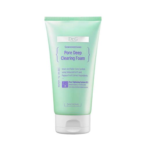 Dr.G Dr.G Pore Deep Clearing Foam philips ms5031 visapure men essential facial cleansing brush deep pore pack