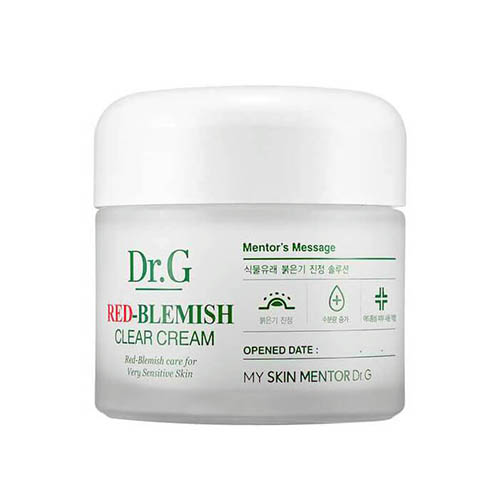 Крем для устранения покраснений на проблемной коже лица Dr.G Red-Blemish Clear Cream white porcelain elements freckle cream whitening cream 35g whitening skin freckles age spots blemish net