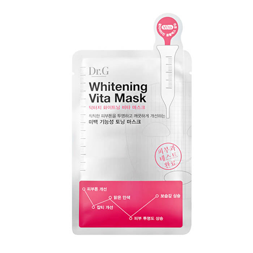 Набор осветляющих тканевых масок для лица Dr.G Dr.G Whitening Vita Mask 10 pcs 200 pcs pack cpr resuscitator keychain mask key ring emergency rescue face shield first aid cpr mask with one way valve