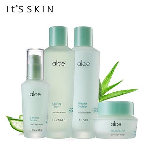 It's Skin Aloe Relaxing Toner комлев и ковыль