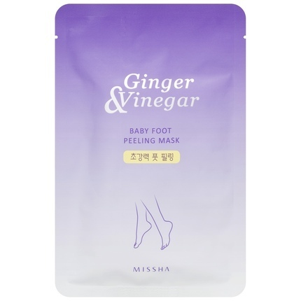 Missha Ginger and Vinegar Baby Foot Peeling Mask