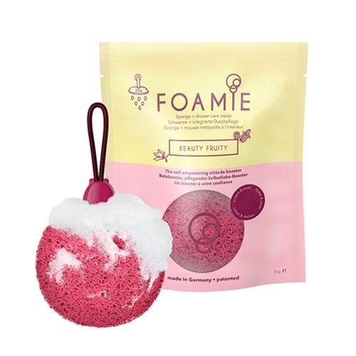 Пенящаяся губка для душа с ароматом фруктов Foamie Foamie Sponge Beauty Fruity montale pretty fruity