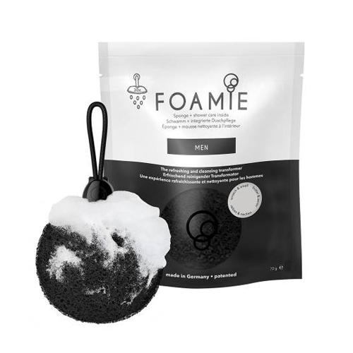Освежающая, пенящаяся губка для душа для мужчин Foamie Foamie Sponge Men цена