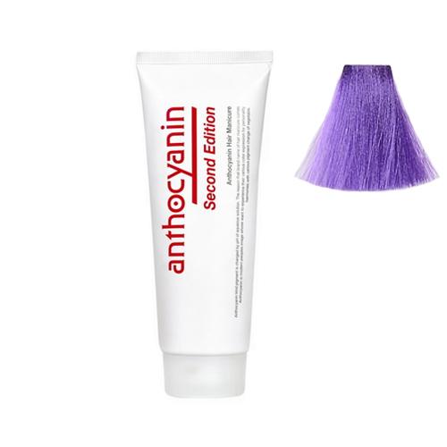 Краска для волос с эффектом биоламинирования Anthocyanin Anthocyanin V02 Blue Violet 110g