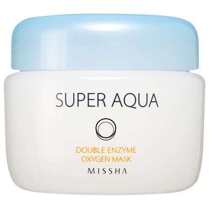 интенсивная кислородная маска Missha Super Aqua Double Enzyme Oxygen Mask