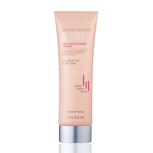 Питающий крем для чувствительной кожи It's Skin Clinical Solution Sensitive Cream бальзам для проблемной кожи лица it s skin clinical solution ac spot balm