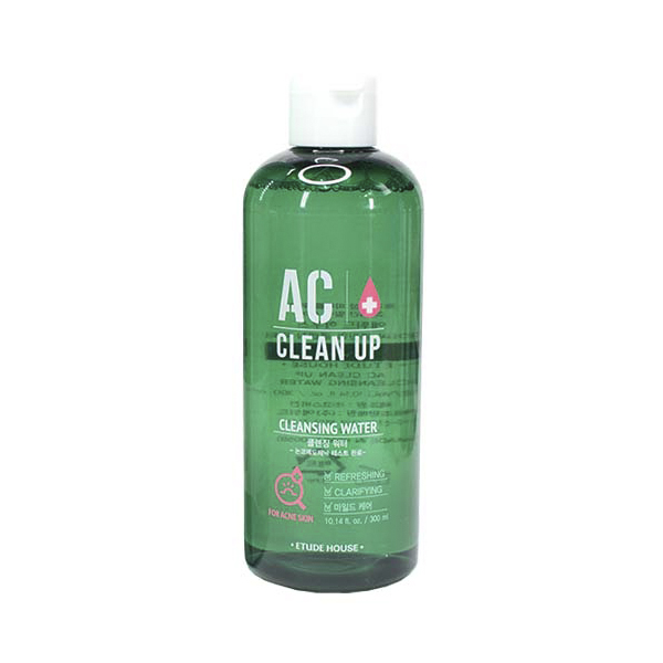 Очищающая вода для проблемной кожи Etude House AC Clean Up Cleansing Water лосьон для проблемной кожи etude house ac clean up gel lotion