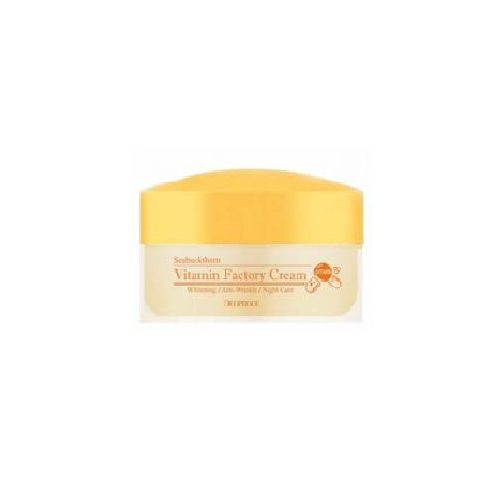 Омолаживающий ночной крем Deoproce Seabuckthorn Vitamin Factory Cream vitamin d3