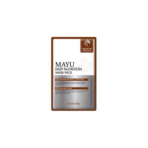 Регенерирующая маска для лица Secret Key Mayu Deep Nutrition Mask Pack pilaten blackhead acne remover face mask deep cleansing
