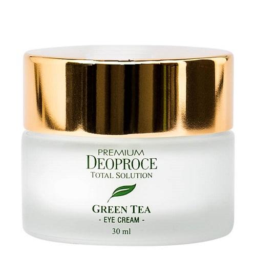 Крем для глаз Deoproce Premium Green Tea Total Solution Eye Cream увлажняющий крем вокруг глаз с экстрактом зеленого чая deoproce premium deoproce green tea total solution eye cream 40 ml