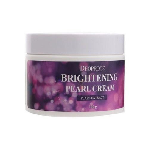 Крем для лица с жемчугом Deoproce Moisture Brightening Pearl Cream ночной уход deoproce moisture repair velvet night cream объем 100 мл