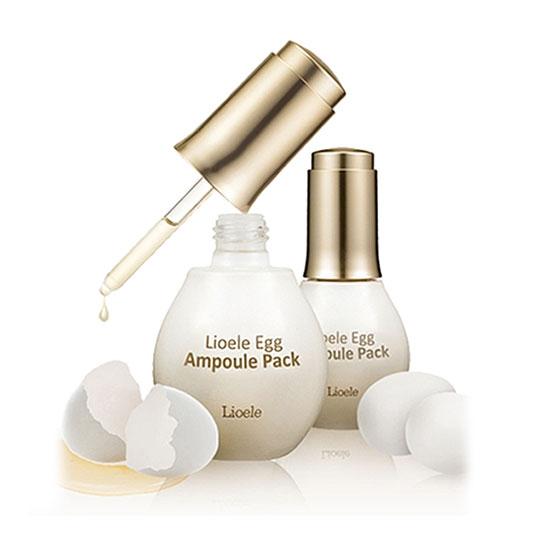 Яичная маска-сыворотка Lioele Egg Ampoule Pack lioele les lioele