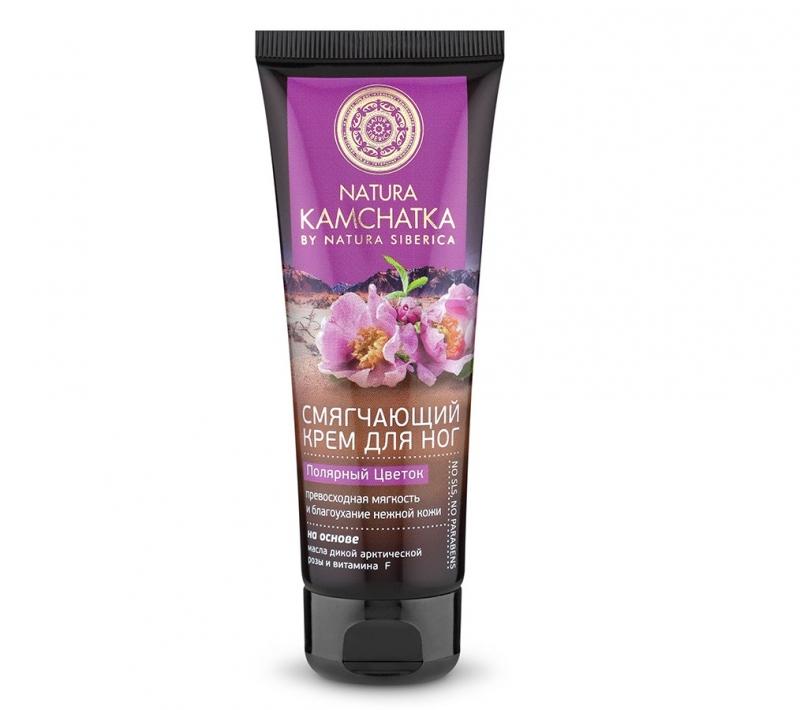 Питательный крем для ног Natura Siberica Natura Kamchatka Крем для ног Полярный цветок мягкость и благоухание нежной кожи