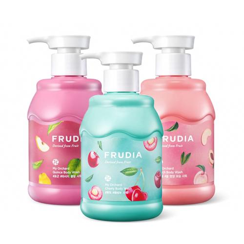 Расслабляющие гели для душа с экстрактами фруктов Frudia My Orchard Body Wash my amazing body machine