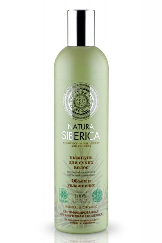 Шампунь для сухих волос объем и увлажнение Natura Siberica Natura Siberica Шампунь для сухих волос объем и увлажнение